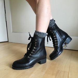 87917f0594c Prada Lace Up Combat Boots - brand new NWT